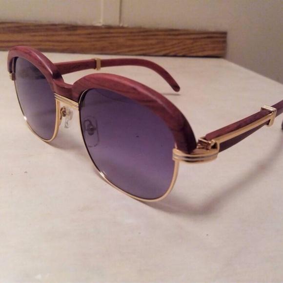 e8afc6b846dd Vintage Cartier Malmaison Sunglasses